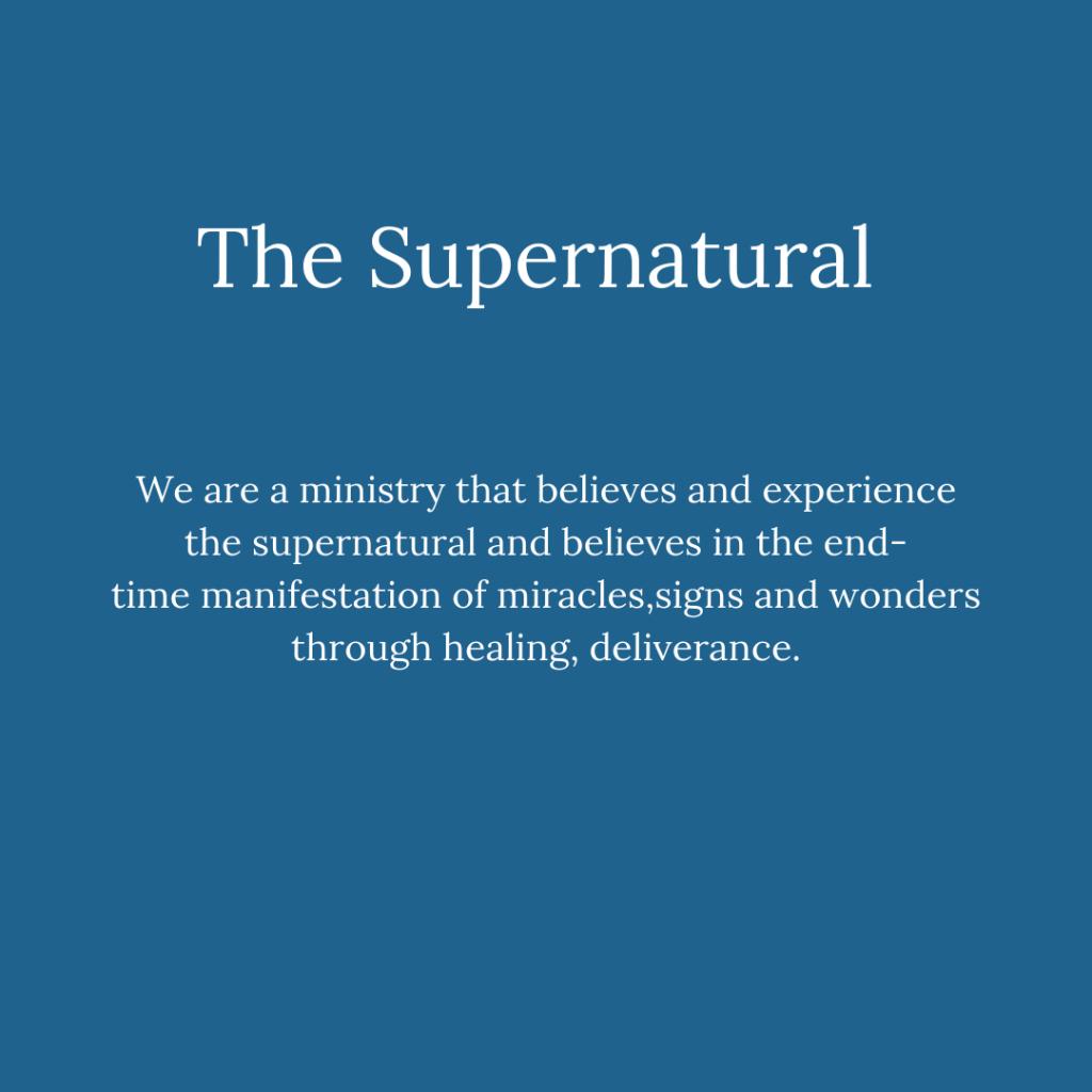 The Supernatural (1)